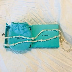 Tiffany & Co Authentic Pearl Necklace